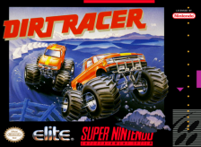 Dirt Racer Nintendo Super NES cover artwork