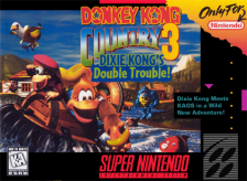 Donkey Kong Country 3 - Dixie Kong's Double Trouble ! Nintendo Super NES cover artwork