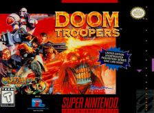 Doom Troopers Nintendo Super NES cover artwork