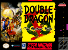 Double Dragon V - The Shadow Falls Nintendo Super NES cover artwork