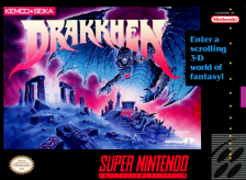 Drakkhen Nintendo Super NES cover artwork