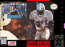 Emmitt Smith Football Nintendo Super NES cover artwork