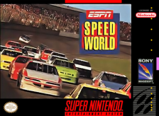 ESPN Speedworld Nintendo Super NES cover artwork