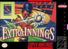 Extra Innings Nintendo Super NES cover artwork