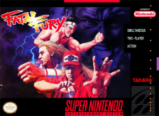 Fatal Fury Nintendo Super NES cover artwork