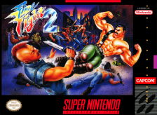 Final Fight 2 Nintendo Super NES cover artwork