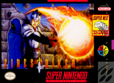 Fire Striker Nintendo Super NES cover artwork