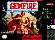 Gemfire Nintendo Super NES cover artwork