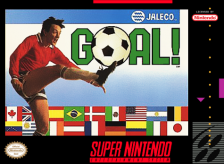 Goal! Nintendo Super NES cover artwork