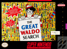 Great Waldo Search, The Nintendo Super NES cover artwork