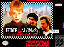 Home Alone 2 - Lost in New York Nintendo Super NES cover artwork