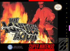Ignition Factor, The Nintendo Super NES cover artwork