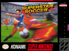 International Superstar Soccer Nintendo Super NES cover artwork