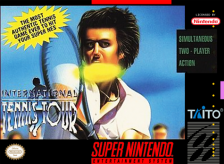 International Tennis Tour Nintendo Super NES cover artwork