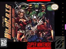 Jim Lee's WildC.A.T.S Nintendo Super NES cover artwork