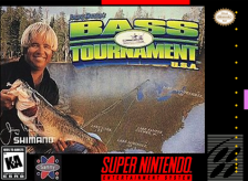 Jimmy Houston's Bass Tournament U.S.A. Nintendo Super NES cover artwork