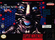 Lawnmower Man, The Nintendo Super NES cover artwork
