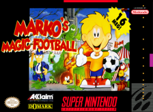 Marko's Magic Football Nintendo Super NES cover artwork