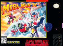 Mega Man X3 Nintendo Super NES cover artwork