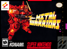 Metal Warriors Nintendo Super NES cover artwork