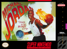 Michael Jordan - Chaos in the Windy City Nintendo Super NES cover artwork
