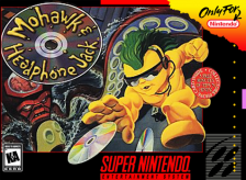 Mohawk & Headphone Jack Nintendo Super NES cover artwork