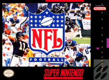 NFL Football Nintendo Super NES cover artwork