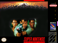 No Escape Nintendo Super NES cover artwork
