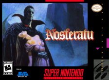 Nosferatu Nintendo Super NES cover artwork