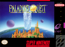 Paladin's Quest Nintendo Super NES cover artwork
