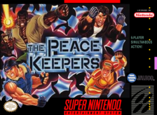 Peace Keepers, The Nintendo Super NES cover artwork