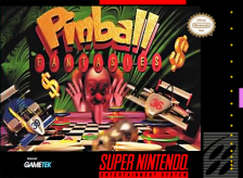 Pinball Fantasies Nintendo Super NES cover artwork