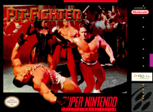 Pit-Fighter Nintendo Super NES cover artwork