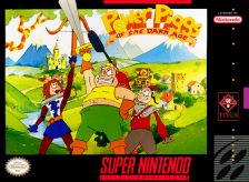 Power Piggs of the Dark Age Nintendo Super NES cover artwork