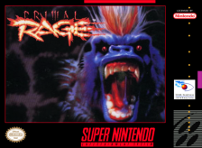Primal Rage Nintendo Super NES cover artwork