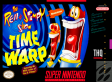 Ren & Stimpy Show, The - Time Warp Nintendo Super NES cover artwork
