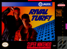 Rival Turf ! Nintendo Super NES cover artwork