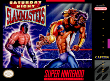 Saturday Night Slam Masters Nintendo Super NES cover artwork