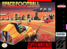 Space Football - One on One Nintendo Super NES cover artwork