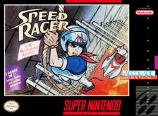 Speed Racer - in My Most Dangerous Adventures Nintendo Super NES cover artwork