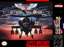 Steel Talons Nintendo Super NES cover artwork