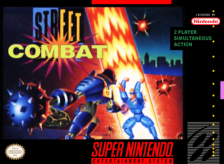 Street Combat Nintendo Super NES cover artwork