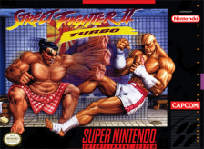 Street Fighter II Turbo - Hyper Fighting Nintendo Super NES cover artwork