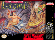 Super Adventure Island Nintendo Super NES cover artwork