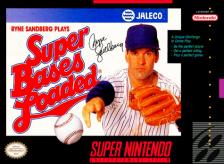Super Bases Loaded Nintendo Super NES cover artwork