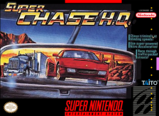 Super Chase H.Q. Nintendo Super NES cover artwork