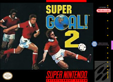 Super Goal! 2 Nintendo Super NES cover artwork