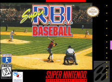 Super R.B.I. Baseball Nintendo Super NES cover artwork