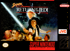 Super Star Wars - Return of the Jedi Nintendo Super NES cover artwork