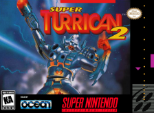 Super Turrican 2 Nintendo Super NES cover artwork
